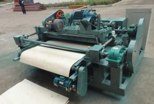 Reasons for poor peeling of shaftless veneer peeling machine