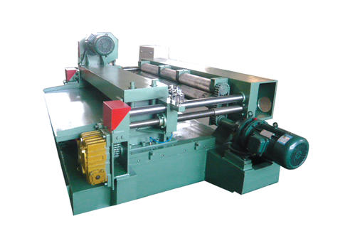 Correct use of shaftless veneer peeling machine