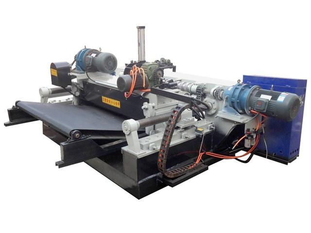 Pressure adjustment method for cardless CNC veneer peeling machine
